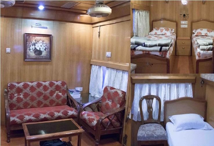 ریلوے کی نئی سہولت، لکثری ہوٹل جیسے کوچ میں آپ بھی کرسکیں گے سفر