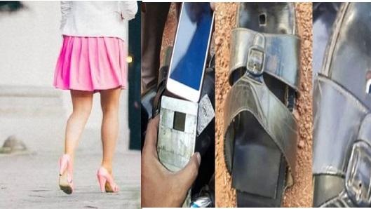 چپل میں کیمرہ چھپا کے بناتا تھا لڑکیوں کی ویڈیو