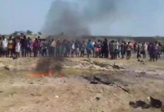 فضائیہ کا ٹرینرطیارہ حادثہ کا شکار: اوڈیشہ