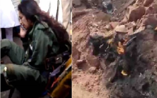 حیدرآباد کے حاکم پیٹ میں فضائیہ کا طیارہ حادثے کا شکار،خاتون پائلٹ صحیح سلامت