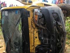 متھرا- سڑک حادثہ: ٹیمپو سوار چھ افراد  کی موت، 8 زخمی