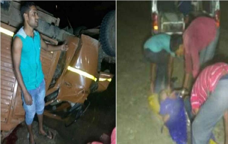 مدھدی پردیش:بارتیوں کو لیکر جارہے منی ٹرک ندی میں گری، 21 کی موت