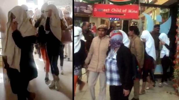 گڑگاؤں میں جنسی ریاکٹ میں لڑکیاں گرفتار۔ تھائی لینڈ کی چار لڑکیاں شامل