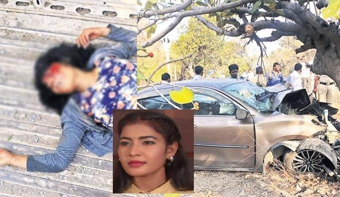 کار حادثے میں تلگو ٹی وی اداکارہ کی موت، شوٹنگ سے واپسی کے وقت ہوا حادثہ