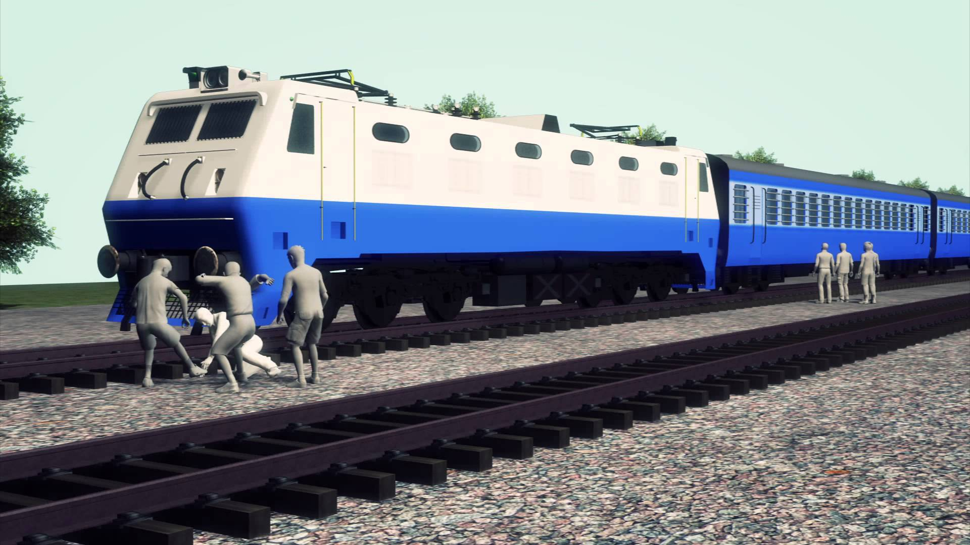 ٹرین سے کٹ کر پانچ خواتین کی موت