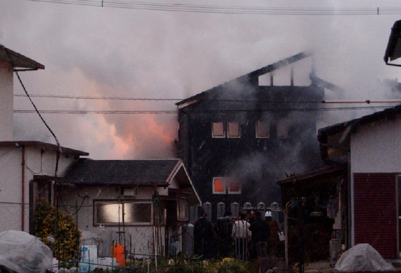 جاپان: فوج کا ہیلی کاپٹر رہائشی علاقے میں حادثے کا شکار:دفاعی وزیر