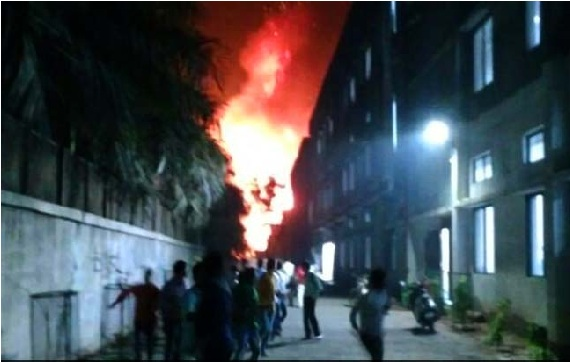 پالگھر میں کیمیکل فیکٹری میں بوائلر پھٹنے سے لگی آگ، 3 افراد ہلاک، 13 زخمی