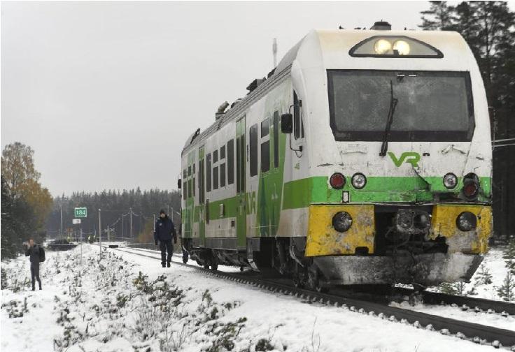 فِن لینڈ میں ٹرین حادثہ، چار افراد ہلاک