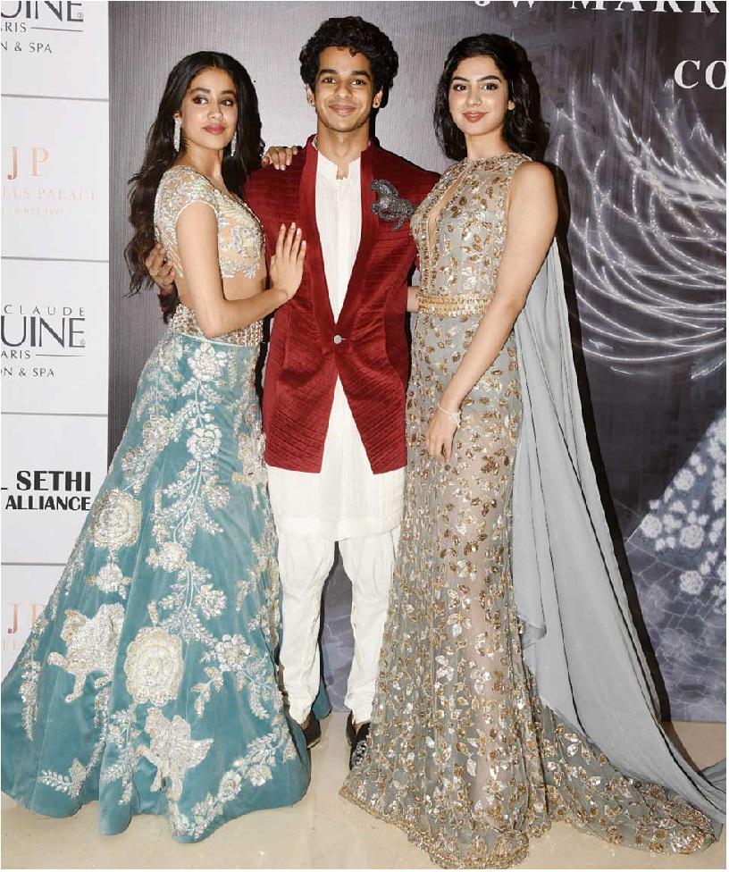جھانوی کے بعد کرن جوہر خوشی کپور کے ساتھ کریں گے شاہ رخ خان کے بیٹے کی بالی ووڈ انٹری