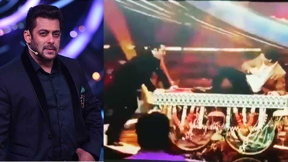سلمان کے شو میں ٹھیلے پر بیٹھ کر آئے شاہ رخ خان