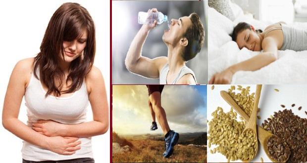 عادات اور غذاؤں سے قبض ختم کریں
