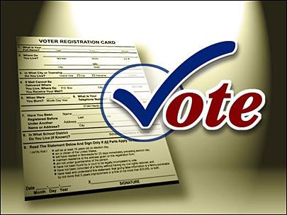 ووٹرلسٹ میں ناموں کے اندراج کی مہم کا کل اختتام