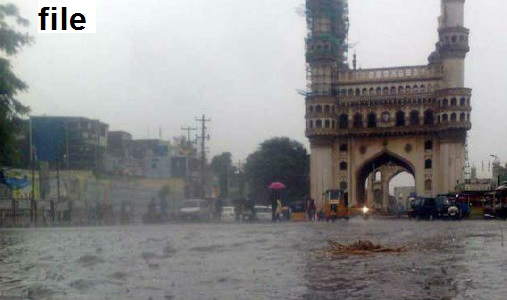 حیدرآباد میں تیز ہواؤں کے ساتھ بارش ،ایک ہلاک