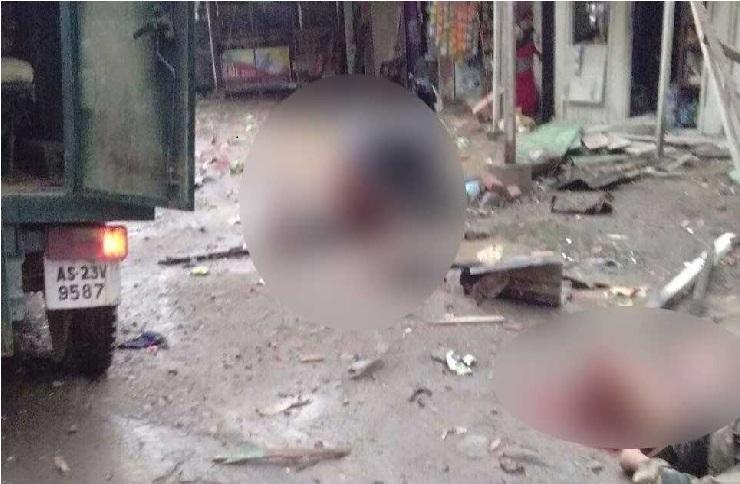 منی پور میں بی ایس ایف کے سیکٹر ہیڈکوارٹر میں آئی ڈی دھماکے، دو جوان شہید