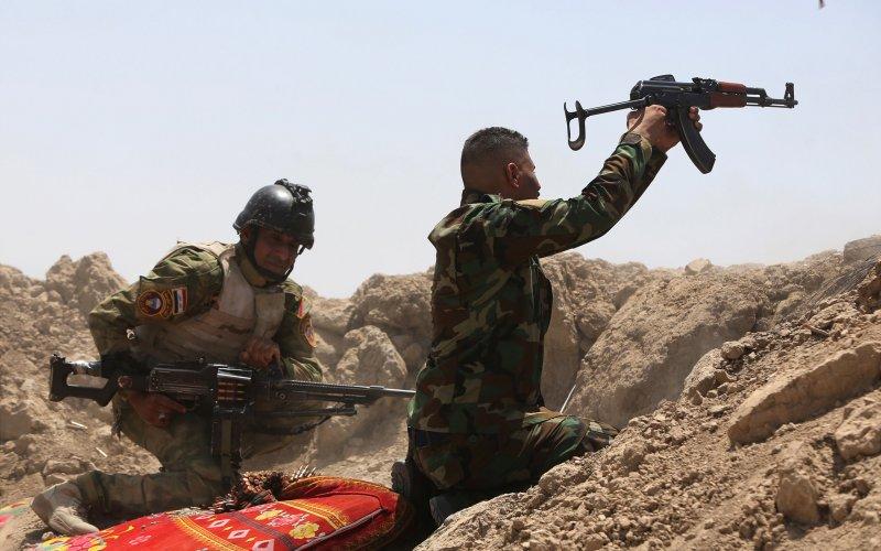 موصل میں فوج کا داعش کے ساتھ تصادم جاری