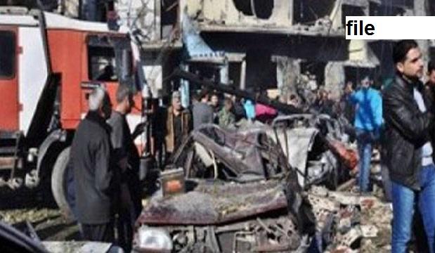 شام : خودکش کار بم حملہ ، 14 افراد کی موت، حکومت حامی 67 فوجی ہلاک