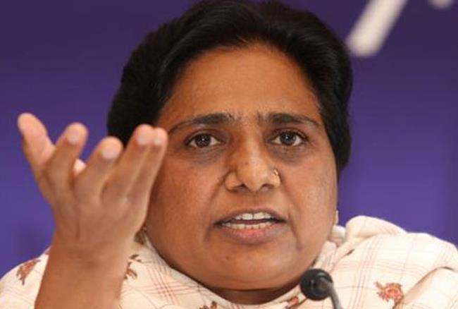 بھارت بندایس سی ، ایس ٹی قانون کے خلاف بی جے پی کی سازش : مایاوتی