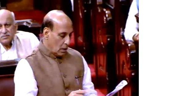 آندھراپردیش کو خصوصی ریاست کا درجہ نہیں، تمام وعدے پورے ہوں گے:راج ناتھ