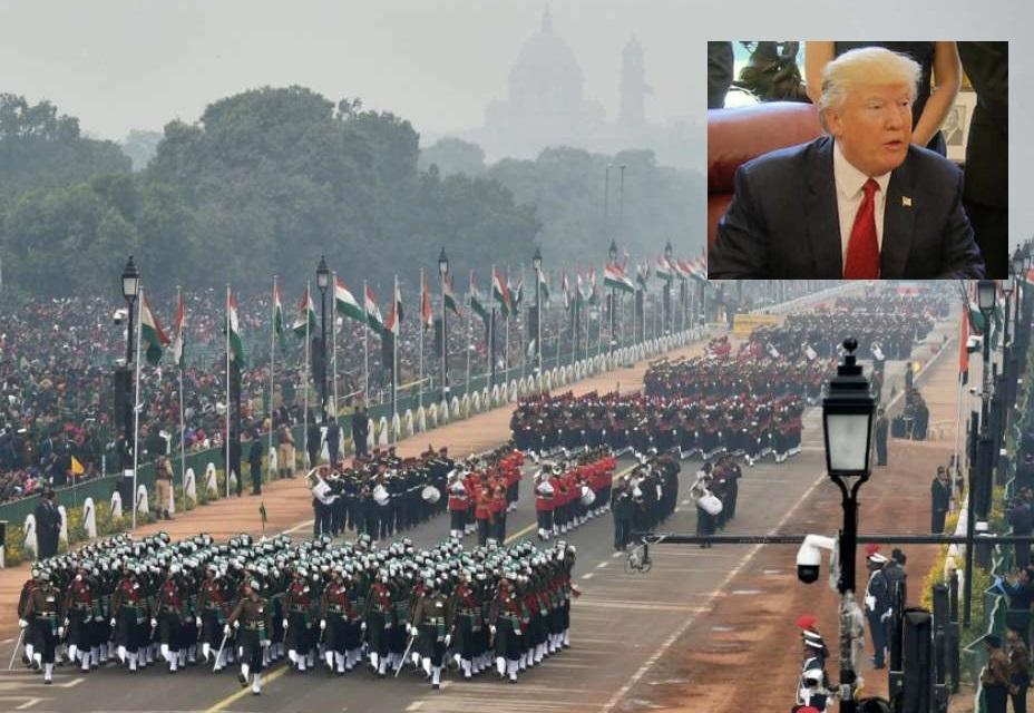 یوم جمہوریہ کی تقریب میں امریکی صدر ٹرمپ مدعو