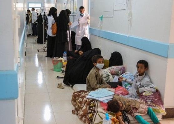 یمن میں ہیضے کی وباء میں شدت پیدا ہونے کا امکان