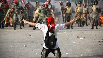 قاہرہ:عبوری حکومت کیخلاف مظاہروں میں شدت،2 جاں بحق، متعدد زخمی