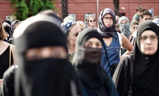 ڈنمارک: نقاب پہننے پر پابندی کی خلاف ورزی پر لڑکی کو 156 ڈالر کا جُرمانہ لگا
