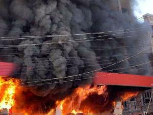گگن پہاڑ کے ایک فیکٹری میں آتشزدگی۔چار افراد ہلاک