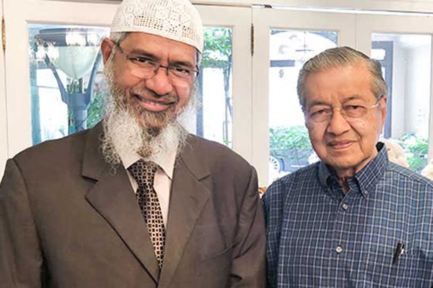 ملیشیا کے وزیراعظم سے ذاکر نائک کی ملاقات
