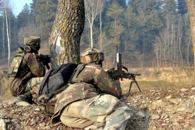 شمالی کشمیر میں دہشت گردوں نے فوج کے گشتی دستہ پر حملہ کیا