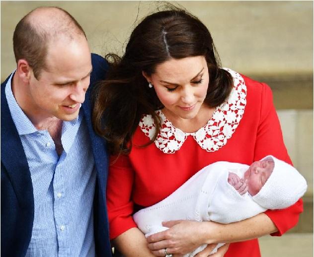 برطانیہ:شہزادی کیٹ مڈلٹن نے بیٹے کو دیا جنم