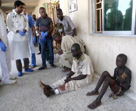 نائیجیریا کی مسجد میں نماز کی ادائیگی کے دوران خود کش حملے میں 7 نمازی شہید