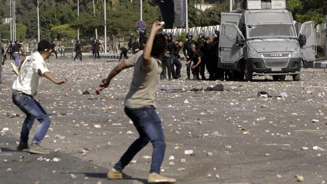 قاہرہ: اخوان المسلمین اور پولیس میں جھڑپیں،19افراد ہلاک
