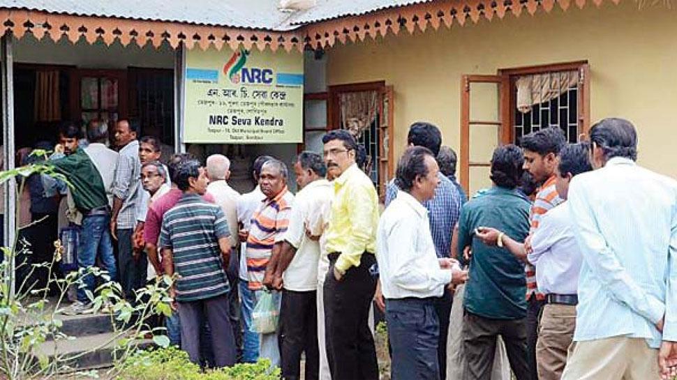 آسام میں 40 لاکھ افراد کے نام این آر سی میں نہ ہونے پر راجیہ سبھا میں ہنگامہ
