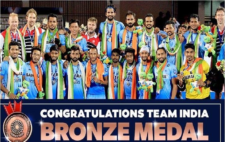 ایچ ڈبلیو ایل فائنلس: ہندوستانی ہاکی کھلاڑیوں کو 10-10 لاکھ روپے کا نقد انعام