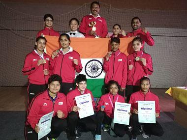 ہندستانی خاتون باکسر نے جیتے تین طلائی