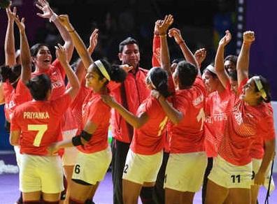 خاتون کبڈی ٹیم کی سری لنکا، انڈونیشیا پر جیت