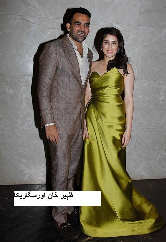 ظہیر خان اور سگاریکا کی منگنی پارٹی میں ٹویٹر پر چھا گیا وراٹ-انوشکا کا یہ ساتھ