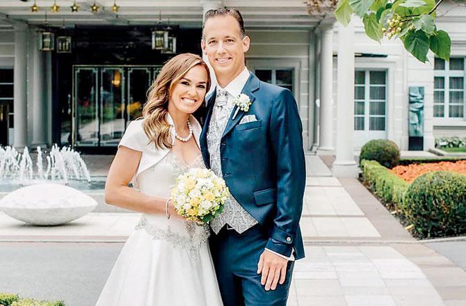 مارٹینا ہنگز نے شادی کرلی