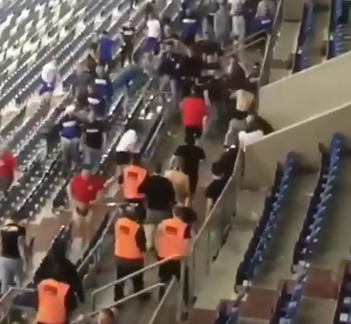فٹ بال میچ کے دوران بلغاریہ میں تشدد