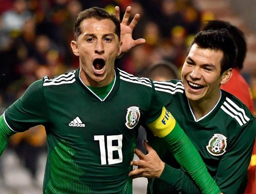 جرمنی کو شکست دینے والا میکسیکو ناک آوٹ کے لئے اترے گا