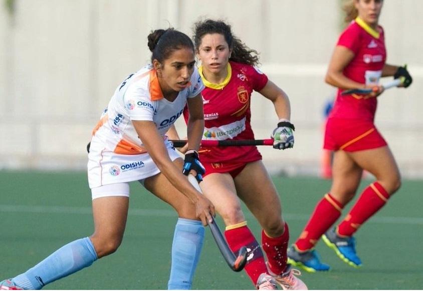 ہندوستانی خواتین ہاکی ٹیم اسپین سے افتتاحی میں ہار گئی