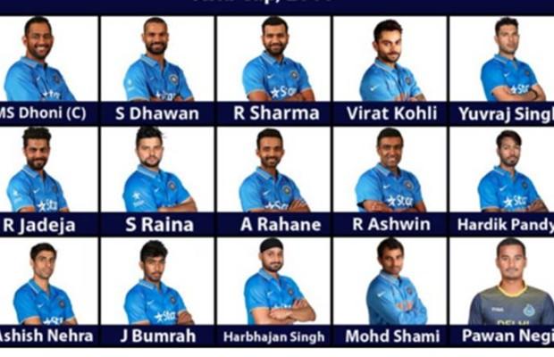 ایشیا کپ اور ورلڈ ٹی -20 کے لئے ٹیم انڈیا کا اعلان، یووراج کو پھر ملی جگہ، پون نیگی نیا چہرہ