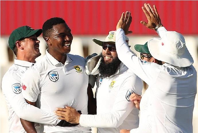 جنوبی افریقہ نے دوسرا ٹسٹ جیت کر سیریز اپنے نام کی
