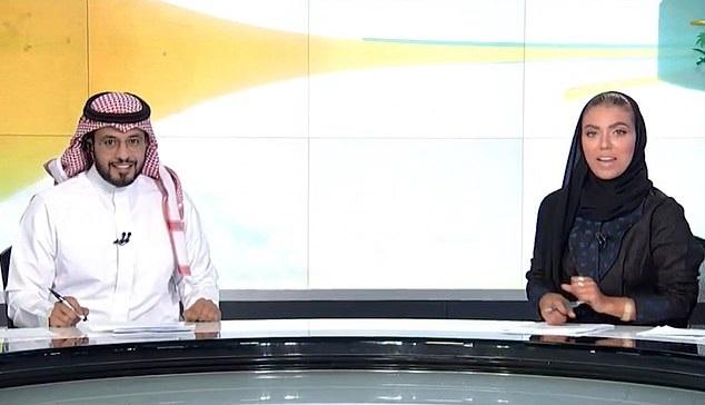 سعودی میں پہلی بار ٹی وی پر نظر آئی خاتون نیوز اینکر