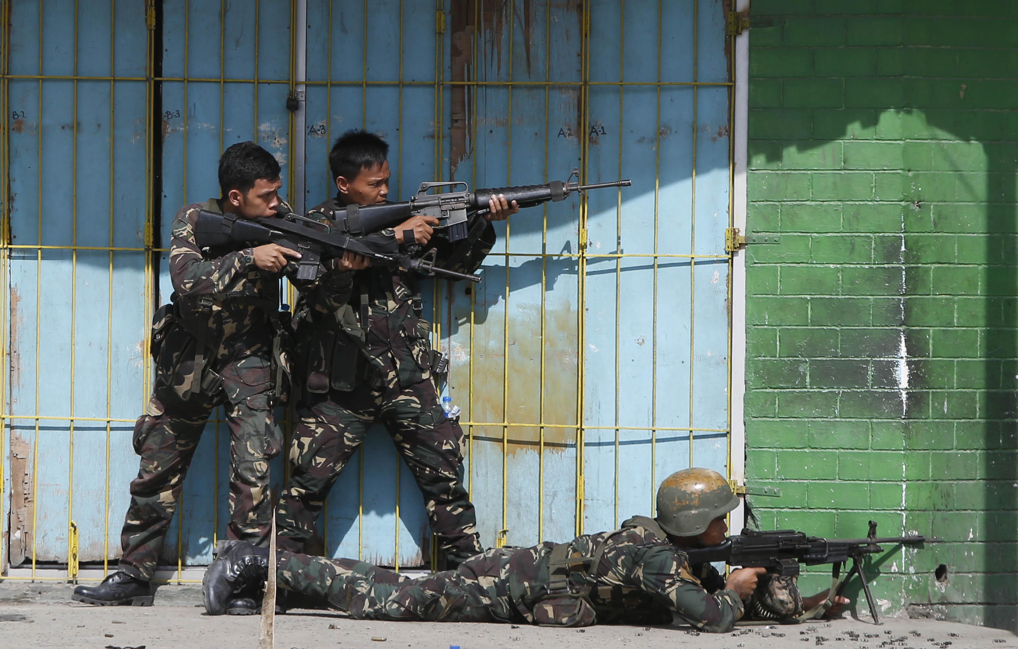 فلپائن میں آئی ایس کے دو دہشت گرد ہلاک