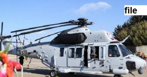 جنوبی کوریا میں بحریہ کا ہیلی کاپٹر حادثے کا شکار، 5 ہلاک