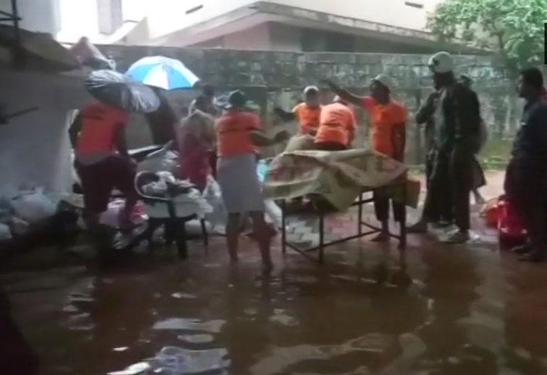 کیرلا زبردست بارش سے تباہی، 3 کی موت