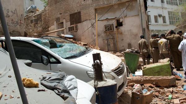 مکہ مکرمہ میں خودکش بمبار کے ٹھکانے کی تصویر جاری