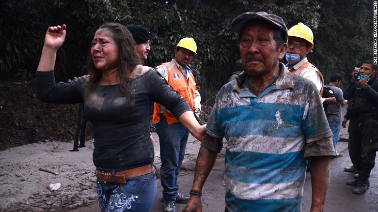 گوئٹےمالا: آتش فشاں پھٹنے سے ہلاکتوں کی تعداد 69 ہو گئی