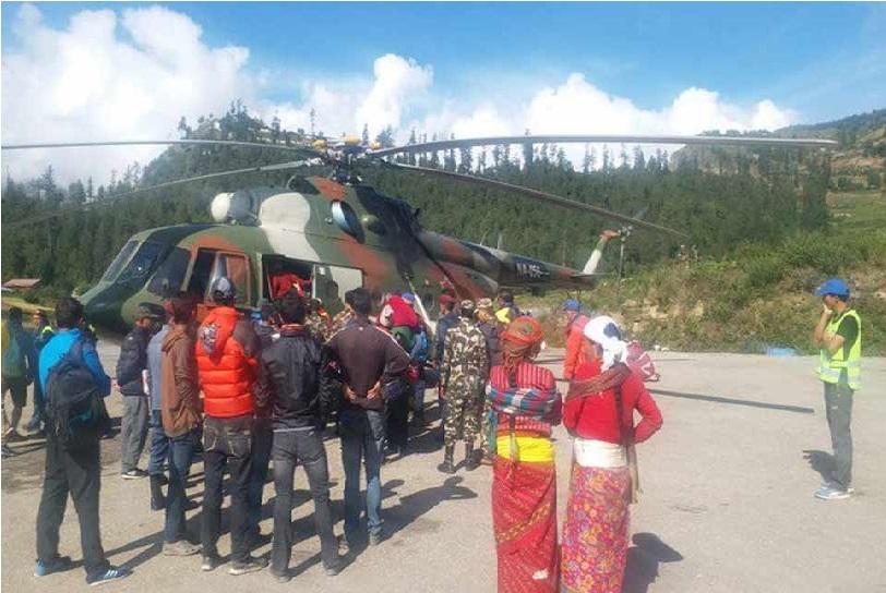 کیلاش مانسرور یاترا: 1500 میں سے 1200 سے زائد پھنسے یاتریوں کو محفوظ نکالا گیا